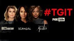 Οι συναρπαστικές σειρές επιστρέφουν στο FOX Life την Πέμπτη! #TGIT