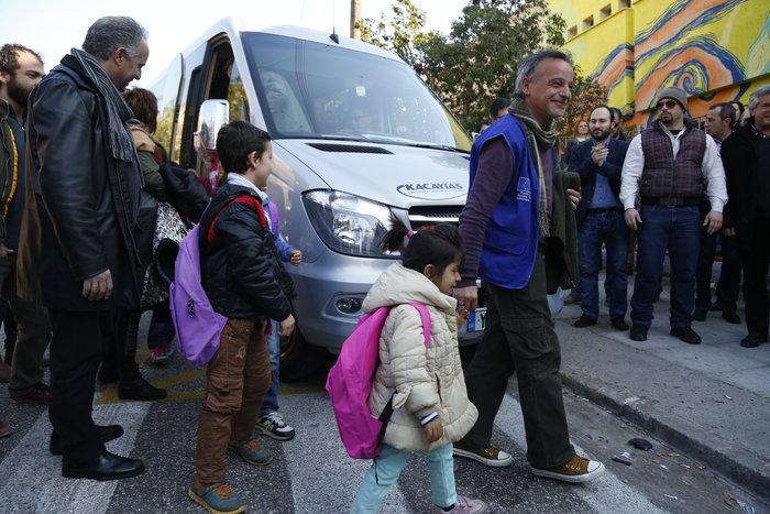 Πέραμα: Φεύγουν τα μισά παιδιά από το δημοτικό για τα προσφυγόπουλα