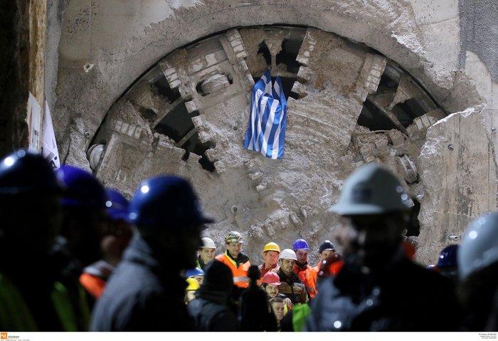 Το μετρό Θεσσαλονίκης απέκτησε την πρώτη σήραγγα [Εικόνες] - εικόνα 4