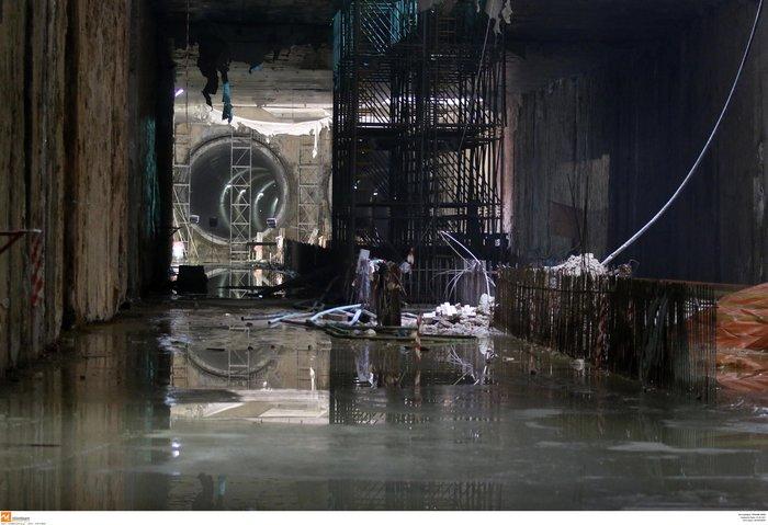 Το μετρό Θεσσαλονίκης απέκτησε την πρώτη σήραγγα [Εικόνες] - εικόνα 6