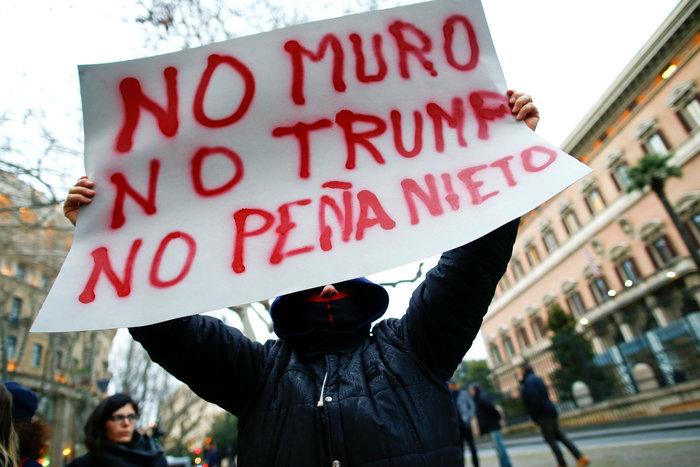 Στους δρόμους οι Ιταλοί κατά του διατάγματος Τραμπ για τους μετανάστες