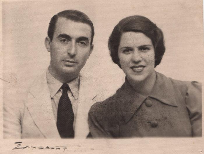Ο ΄Αγγελος και η Λητώ Κατακουζηνού (1930)
