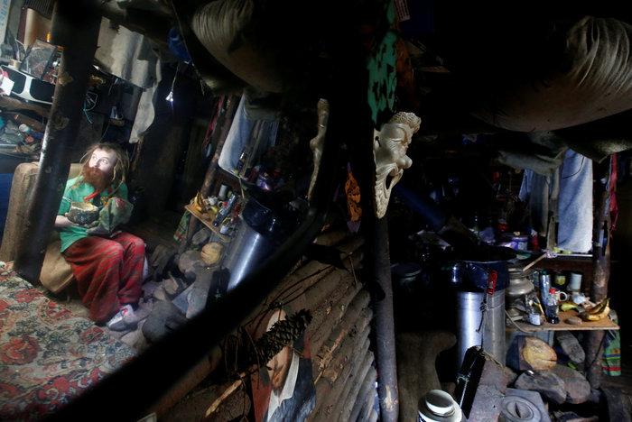 Ρωσία: Ο άνθρωπος - χόμπιτ που ζει κάτω από τη γη - εικόνα 7