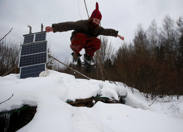 Ρωσία: Ο άνθρωπος - χόμπιτ που ζει κάτω από τη γη - εικόνα 12