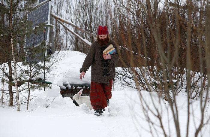 Ρωσία: Ο άνθρωπος - χόμπιτ που ζει κάτω από τη γη - εικόνα 13