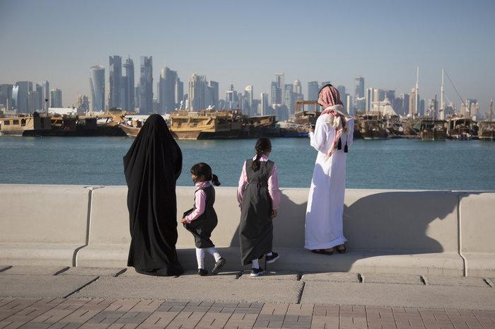 Το Κατάρ μόλις κατέγραψε την πιο χαμηλή θερμοκρασία στην ιστορία του