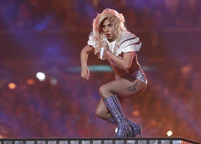 Η Lady Gaga στο superbowl