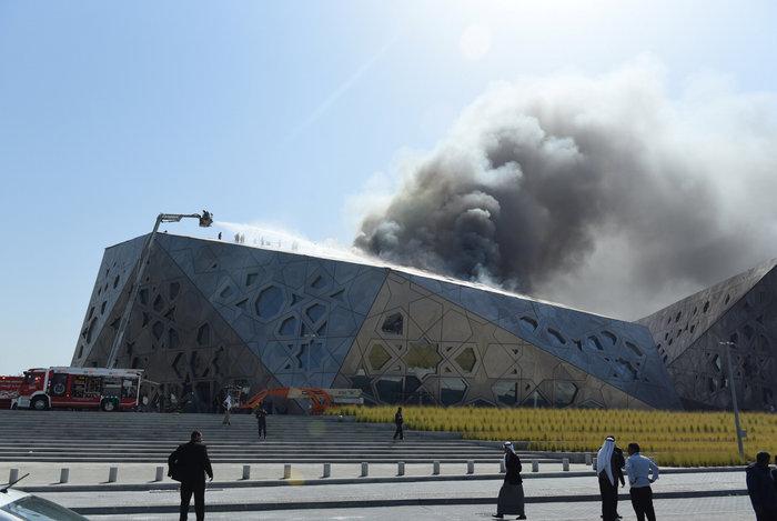 Φωτιά κατέστρεψε την καινούργια όπερα του Κουβέιτ