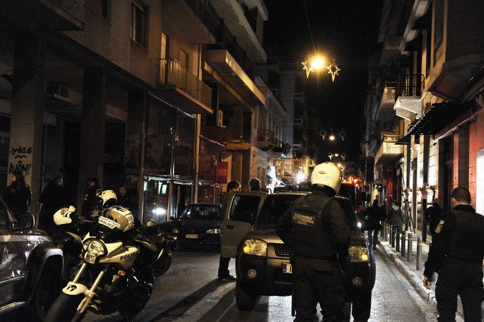 Επίθεση με γκαζάκια σε δικηγορικά γραφεία στην οδό Σόλωνος
