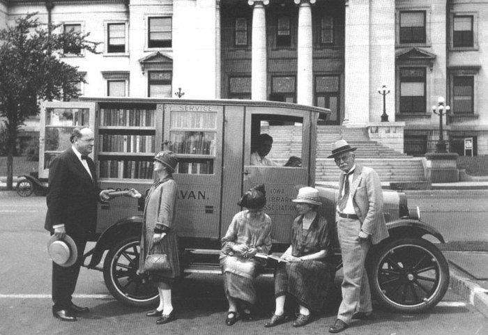 Οταν οι πρωτοποριακές βιβλιοθήκες του παρελθόντος είχαν ρόδες [Εικόνες] - εικόνα 9