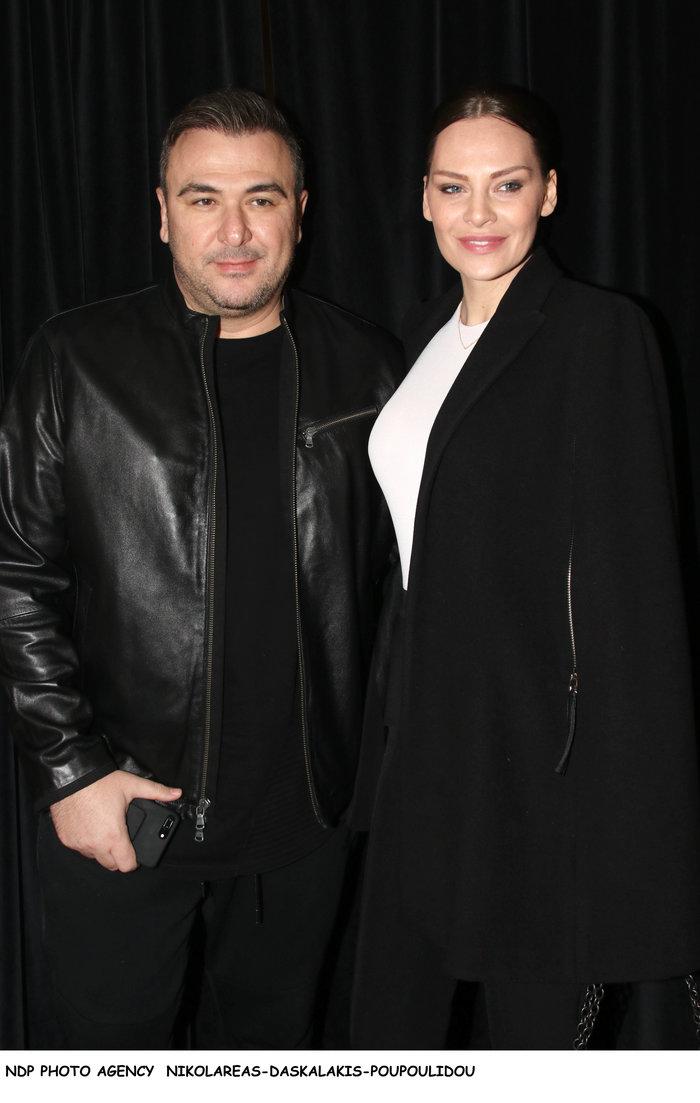 Η πάντα κομψή Υβόννη Μπόσνιακ και ο Αντώνης Ρέμος σε βραδινή έξοδο - εικόνα 4