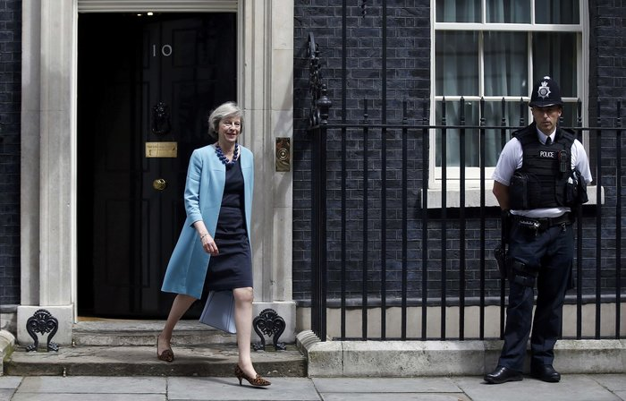 Η πρωθυπουργός της Μεγάλης Βρετανίας Τ. Μέι