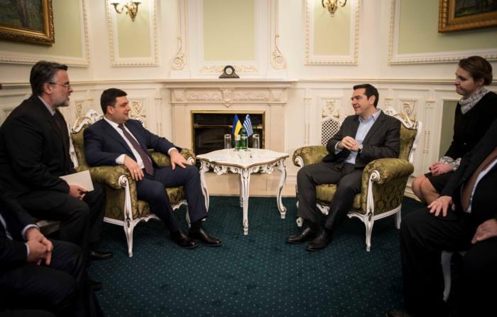 Σήμερα η συνάντηση Τσίπρα - Ποροσένκο στην Ουκρανία