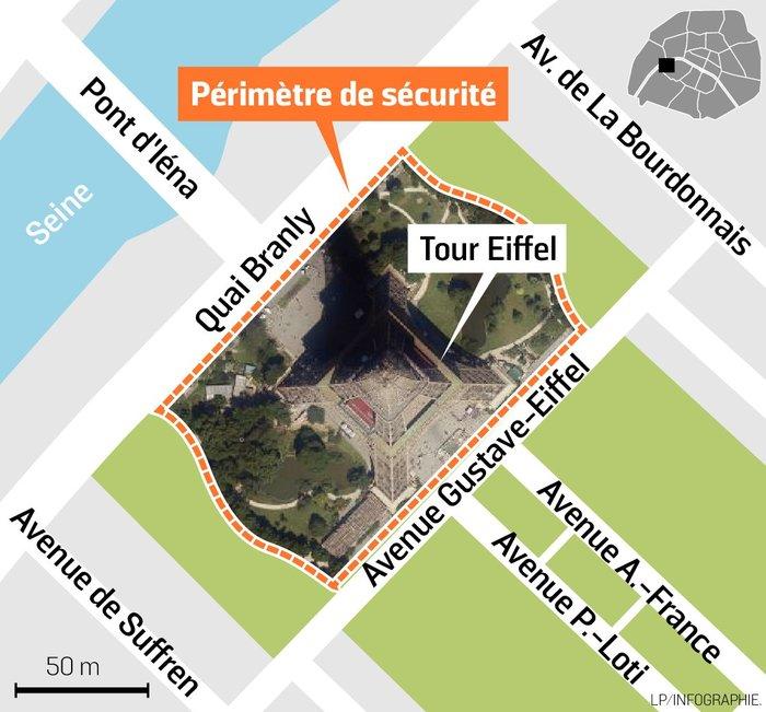 Αλεξίσφαιρος γυάλινος τοίχος θα προστατεύει στο εφεξής τον Πύργο του Άιφελ