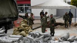Σκηνές πολέμου για τη μεγαλύτερη εκκένωση ελληνικού χωριού εν καιρώ ειρήνης