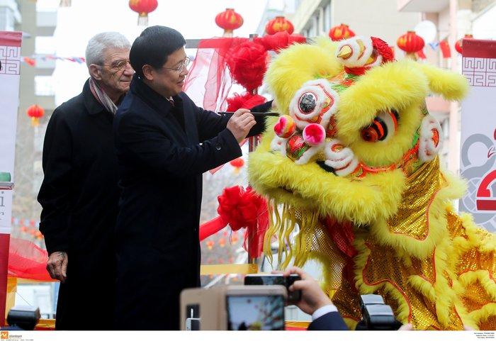 Ψινάκης & Μπουτάρης γιορτάζουν την Κινέζικη Πρωτοχρονιά - φωτό - - εικόνα 10