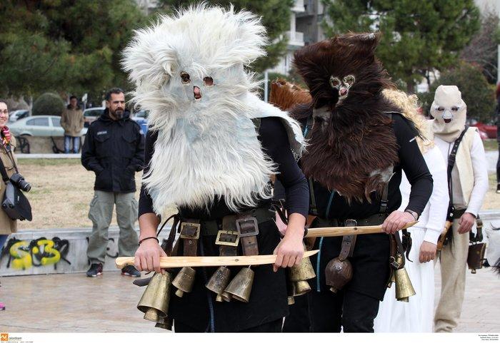 Θεσσαλονίκη: «Βροντάει» η πόλη από τους κωδωνοφόρους - εικόνα 6
