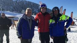 Για σκι στα Καλάβρυτα βρέθηκε ο αμερικανός πρέσβης Τ.Πάιατ  φωτό