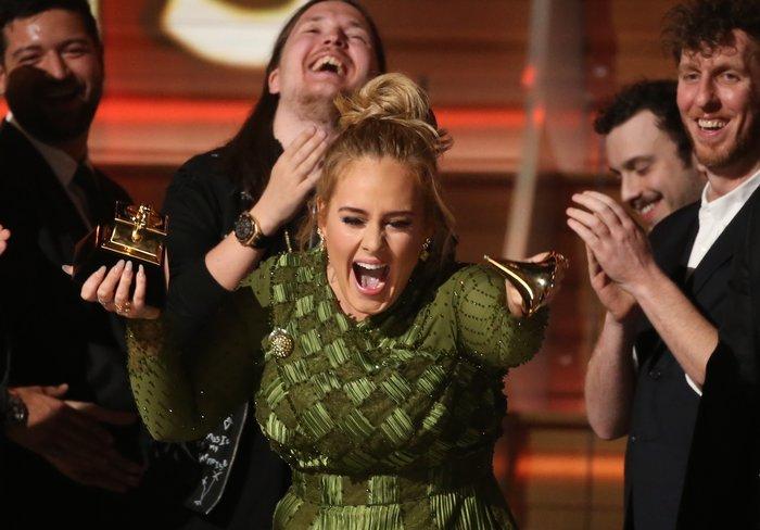 Tα πήρε όλα: Πέντε Grammy στην Αdele, δύο στην Μπιγιονσέ - εικόνα 5
