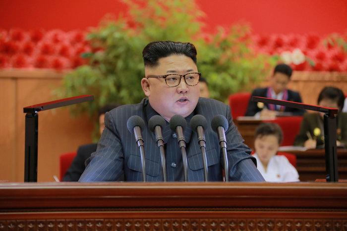 Ο Κιμ Γιόνγκ ουν