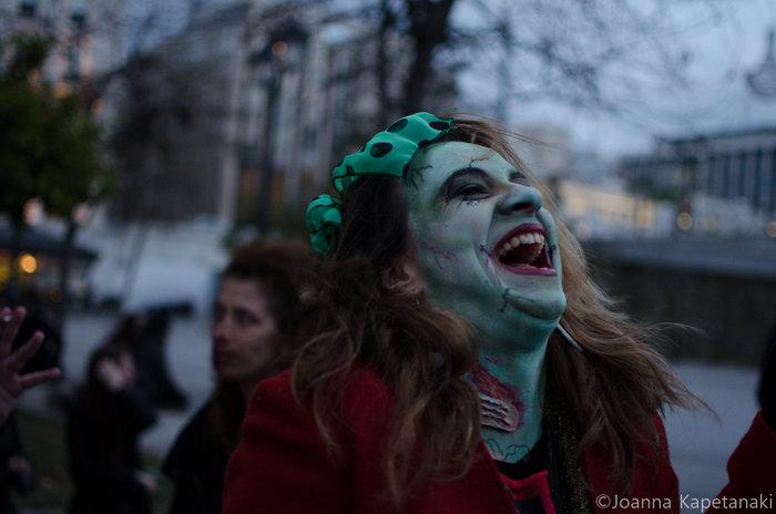 Τα ζόμπι δίνουν «ραντεβού» στο κέντρο της Αθήνας - εικόνα 4
