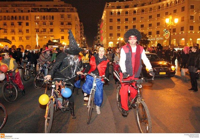 Τσικνήστε αλλιώς: Από το Μουσείο Ακρόπολης στο Ποδηλατικό Καρναβάλι Θεσ/κης