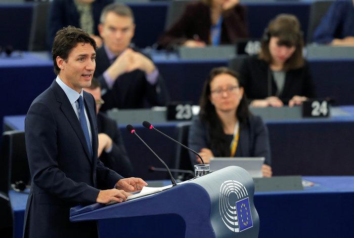 Μετά την Ιβάνκα, ο Τριντό γοήτευσε και το Ευρωκοινοβούλιο [Εικόνες]