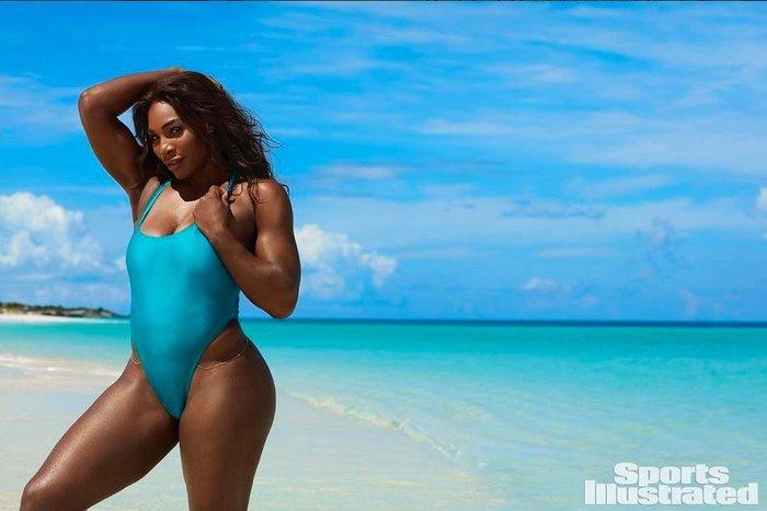 Η Σερένα Γουίλιαμς επιδεικνύει τις ατέλειές της στο Sports Illustrated - εικόνα 4