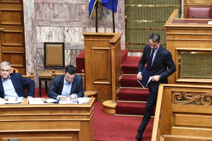 Σφοδρή ήταν η κόντρα του πρωθυπουργού με τον αρχηγό της αξιωματικής αντιπολίτευσης
