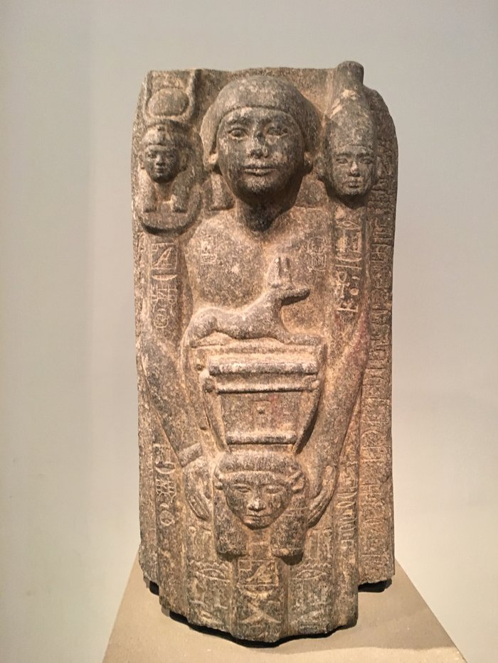 Αρχιτεκτονικο γλυπτό από τον τάφο του Ουενέφερ Α', ιερέα του Όσιρι