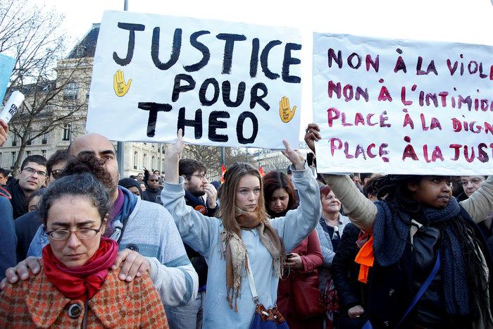 Μεγάλες διαδηλώσεις κατά της αστυνομικής βίας στη Γαλλία - εικόνα 2