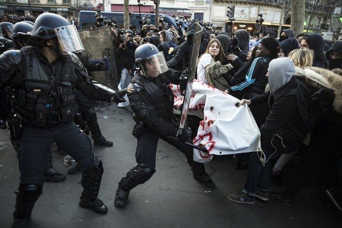 Μεγάλες διαδηλώσεις κατά της αστυνομικής βίας στη Γαλλία - εικόνα 3