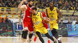 Basketball Champions League: Ανετη η ΑΕΚ νίκησε με 75-54 την Γιουβέντους