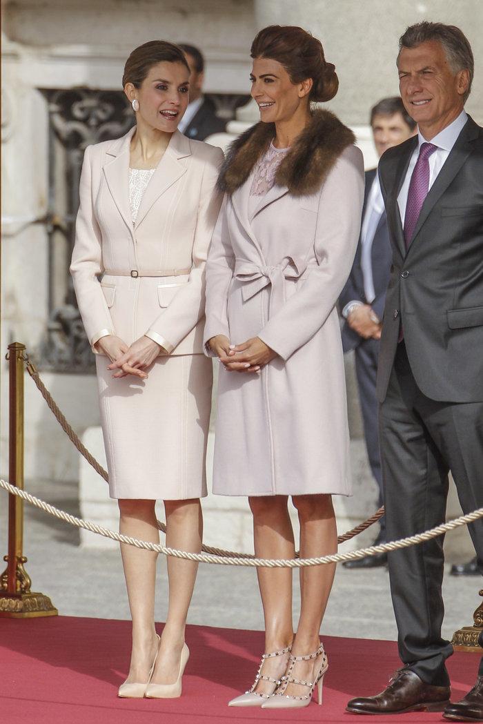 Η Λετίσια και η άλλη: Δύο fashionistas πρώτες κυρίες ντύθηκαν σαν δίδυμες
