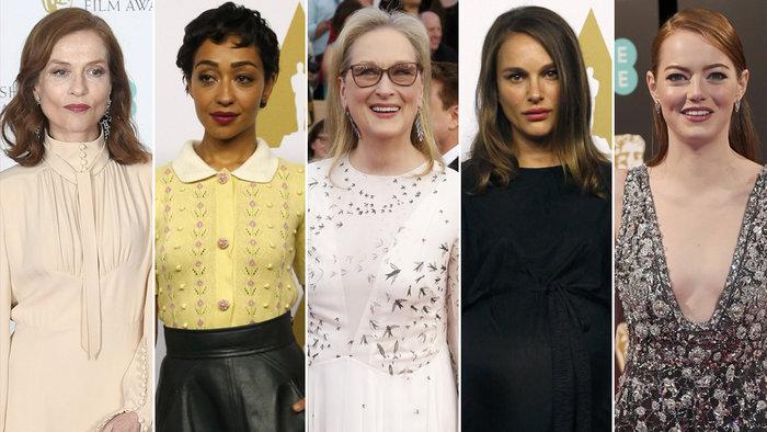 Οι υποψήφιες για Α' Γυναικείο Ρόλο