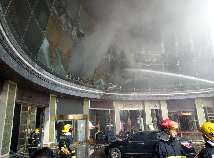 Δέκα νεκροί από φωτιά σε μεγάλο ξενοδοχείο στην Κίνα - εικόνα 2