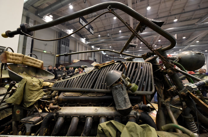 Tank bike: Μια διαφορετική μοτοσυκλέτα φτιαγμένη από... τεθωρακισμένα - εικόνα 4