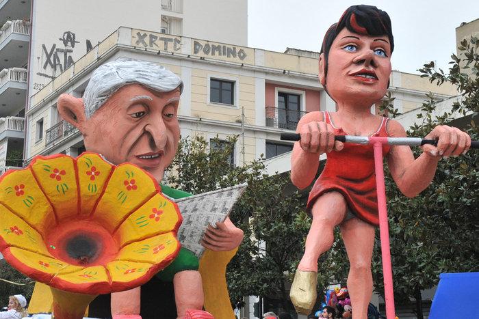 Ξεφάντωμα στη μεγάλη καρναβαλική παρέλαση της Πάτρας - Φωτογραφίες - εικόνα 3