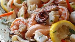 Τρεις συνταγές θαλασσινών για το σαρακοστιανό τραπέζι