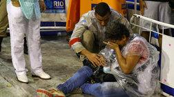Σοκ στο Ρίο: Καρναβαλικό άρμα στο σαμπαδρόμιο παρασύρει θεατές