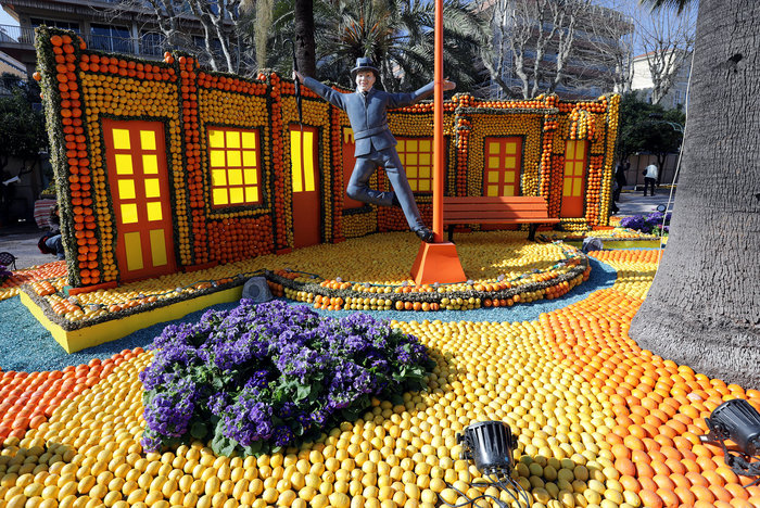Τι έκαναν οι άνθρωποι;! Αριστουργήματα τις έβδομης τέχνης από... πορτοκάλια! (Photos)