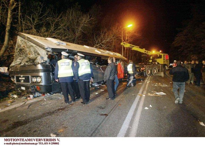 Τα δέκα μεγάλα τροχαία δυστυχήματα που συγκλόνισαν το Πανελλήνιο - εικόνα 2