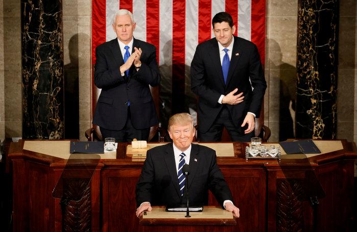 Ο Τραμπ στο Κογκρέσο: Ξεκινά η ανέγερση του τείχους στα σύνορα με το Μεξικό - εικόνα 4