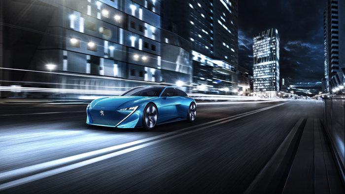 Peugeot Instinct Concept: Αυτόνομο, connected και με ελεύθερη ...σκέψη