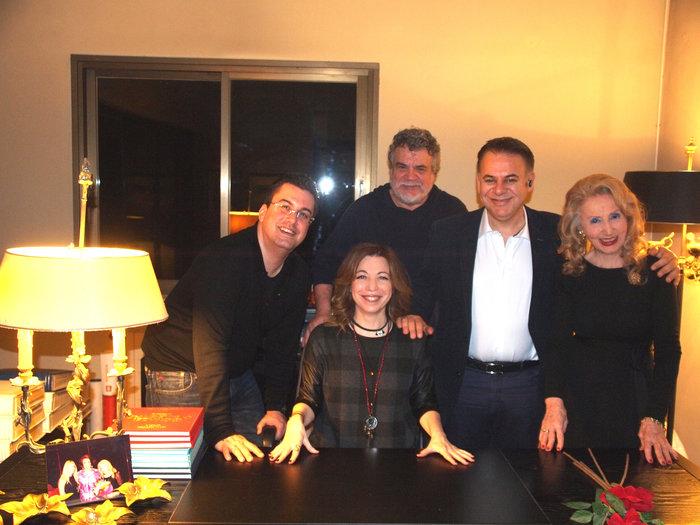 Πάνος Κατσαρίδης, Γιώργος Κακλέας, Γιάννης Κέντ, Μαρία Ψαθά και Δήμητρα Παπαδοπούλου