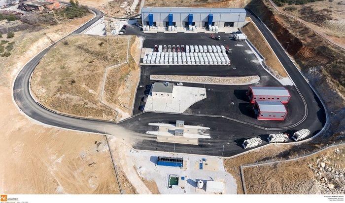 Ενταση στα εγκαίνια του σταθμού απορριμάτων στην Ευκαρπία - εικόνα 8