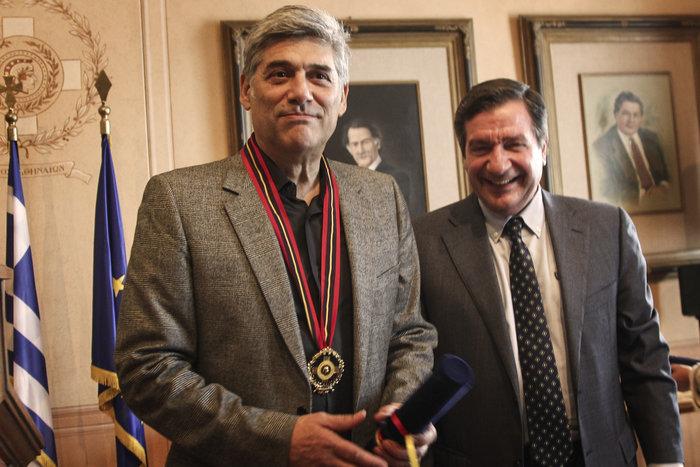 Επίτιμος δημότης της Αθήνας ανακηρύχθηκε ο ηθοποιός Γ. Χωραφάς - εικόνα 3