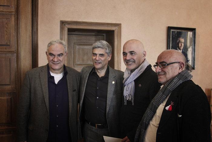 Επίτιμος δημότης της Αθήνας ανακηρύχθηκε ο ηθοποιός Γ. Χωραφάς - εικόνα 5