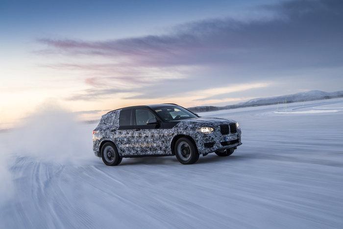 """Η μελλοντική BMW X3 """"πακέτο"""" στη Λαπωνία για extreme δοκιμές ...σλάλομ"""