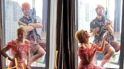 Κάιλι Μινόγκ:Τι έκανε όταν είδε έναν άνδρα κρεμασμένο έξω απ΄το δωμάτιό της
